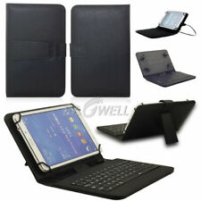 """For RCA Voyager 7"""" 8"""" 10.1"""" Tablet Leather Stand Case Micro USB Keyboard Cover"""