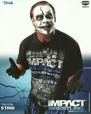 STING TNA Impact Wrestling Original 8x10 Promo Photo
