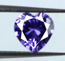 Natural Heart Shape 2.10 Ct Ceylon Purple Sapphire Loose Gemstone AGSL Certified