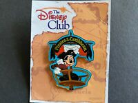 The Disney Club Exclusive - Pirates Of The Caribbean Mickey Disney Pin 21333