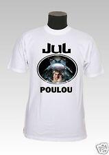 tee-shirt enfant jul personnalisable prénom réf 73