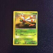Pokemon trading cards, holo 2009 Yanma
