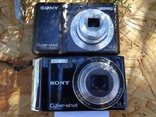 LOT 2 Sony Cyber-shot camera DSC-W370 & DSC-S2100 14.1MP & 12.1MP AS IS REPAIR
