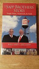 THE SAPP BROTHERS' STORY TOUGH TIMES, TEAMWORK & FAITH OMAHA, NE (SIGNED COPY)