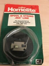 1 NOS Homelite Trimmer Spool & String  # 00825 -B NEW ST -30 Electric Trimmer