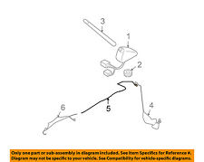 SUBARU OEM 09-13 Forester Radio Antenna-Feed Line Cable 86325SC000