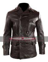 German Submariner WW2 Men's KRIEGSMARINE Leather Jacket High Quality