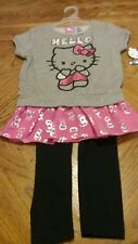 Hello Kitty, 2 Piece outfit, size 7/8, short sleeve