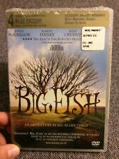 Big Fish (Dvd, 2004) New Sealed a Tim Burton film Ewan McGregor