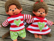 KLEIDUNG für MONCHICHI Gr 20 cm Winterset Bekleidung Puppenkleidung Mohnblumen