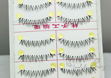 10 Pairs  Natural Under False Eyelashes Bottom Lower Eye lashes Handmade #JN9