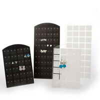 72 Holes Earring Ear Studs Showcase Stand Holder Organizer Display Rack Mini