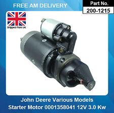 Starter Motor For John Deere 0001367037 00013670750001367078 0001369001
