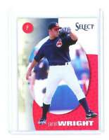 1998 Pinnacle Select Bankruptcy Test #162 JARET WRIGHT cleveland indians