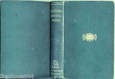 Poetical works of Alfred Lord Tennyson MacMillan The Globe edition 1907