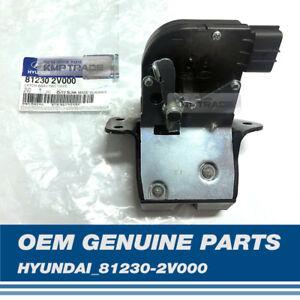 OEM Genuine Parts Tailgate Lock Latch 81230-2V000 For HYUNDAI 2011-2017 Veloster
