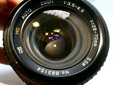 28-70mm f3.5-4.5 Lens for Pentax K A KA KR manual focus zoom for Super program