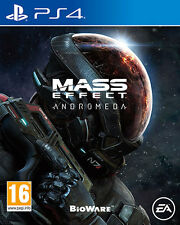Mass Effect Andromeda PS4 Playstation 4 IT IMPORT ELECTRONIC ARTS