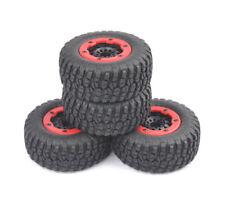 USA  Bead-Lock Tire Wheel Rim For 4×1/10 Scale RC Short Course Car TRAXXAS Slash