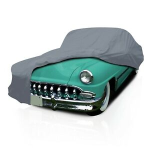 4 Layer Waterproof Car Cover for DeSoto Fireflite 2-dr 1955 1956 1957-1960