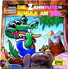Pixi Buch alt- 798 Die Zahn Putz Schule am Nil 2. Aufl. 1996 -Sammlung - Bücher