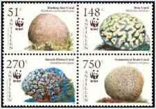 Timbres Faune marine Antilles NL 1554/7 ** année 2005 lot 26734 - cote : 30 €