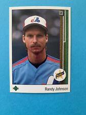 1989 Upper Deck Randy Johnson Montreal Expos #25 Baseball Card