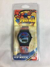 SpiderSense Spiderman Lcd Watch Marvel Spider Sense Spider-Man Watch