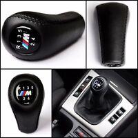 M Sport 5 Gang Leder Schaltknopf Schaltknauf BMW 3 5 6 7 E30 E32 E36 E38 E39 E46