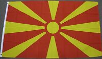 NEW 3X5 MACEDONIA FLAG 3'X5' FOOT FLAGS MACEDONIAN F681
