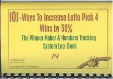 PICK 4 LOTTO BOOK HELP YOU INCREASE WIN CHANGES BY 50%