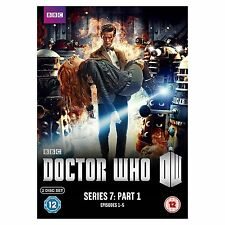DOCTOR Dr WHO Complete 7th Series Season 7 Part 1 Seven DVD Box Set BBC R4