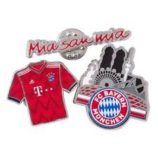 Pin Anstecker FC Bayern München - 3 er Set