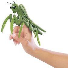Praying Mantis Finger Puppets, Folkmanis MPN 2610, 3 & Up, Boys & Girls