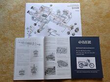 Reparaturanleitung Reparaturhandbuch MZ ETZ 125 150 251 301 MZ 500  NEU