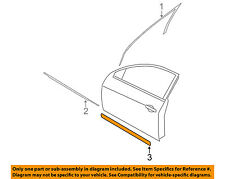 NISSAN OEM 07-12 Altima FRONT DOOR-Body Side Molding Left 80871JA01E