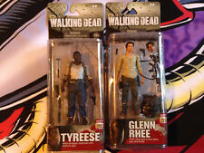 The Walking Dead AMC Glenn Rhee Tyreese Mcfarlane figures Series 5 neca zombie