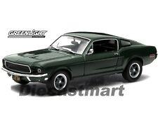 """1968 FORD MUSTANG GT FASTBACK STEVE MCQUEEN """"BULLITT"""" 1:43 GREENLIGHT 86431"""