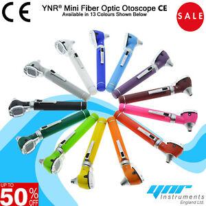 YNR Ear Otoscope Mini Fiber Optic Medical Diagnostic Examination CE approved NEW