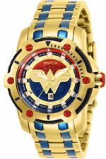 Invicta 26839 DC Comics Stainless Steel Women's Watch - Gold/Blue