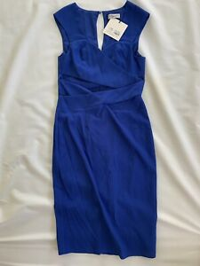 GUESS Lumier By Bariano Blue Cutout Dress - Size Medium
