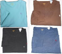 Polo Ralph Lauren V NECK Pony Tee Shirt Mens Big & Tall Sizes NWT