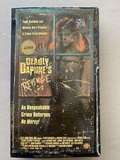 Deadly Daphne's Revenge AIP Troma VHS Tape Cut Box Horror Movie Rare