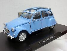 CITROËN 2CV 4 1976 AZUL CLARO PALE BLUE 1/24 FABBRI AUTO VINTAGE