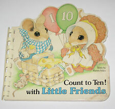 Count to Ten with Little Friends by Karen Stile (1983, Hardcover) Mouse Mice