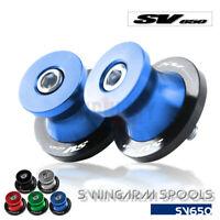 Racingadapter Montageständer Ständeraufnahmen Bobbins für Suzuki SV650 SV650S