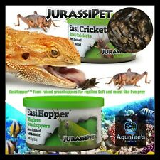 JurasiDiet Grass Hopper Food 35g Aqua Fish Reptile Lizard Frog Turtle amphibian