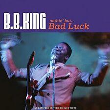 B. B. King Nothin' But ... Bad Luck 3LP Gatefold Blue Vinyl Record Blues/Soul