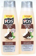 2 Bottles Alberto VO5 15 Oz Moisture Milks Island Coconut Moisturizing Shampoo