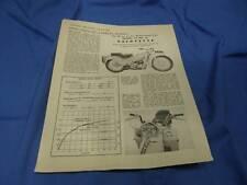 Original Velocette Advertisment, Model LE MK III 3, VE33